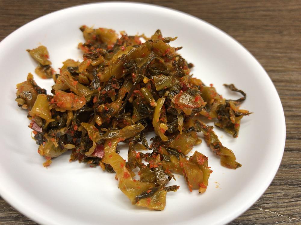 ふくの家 辛子高菜