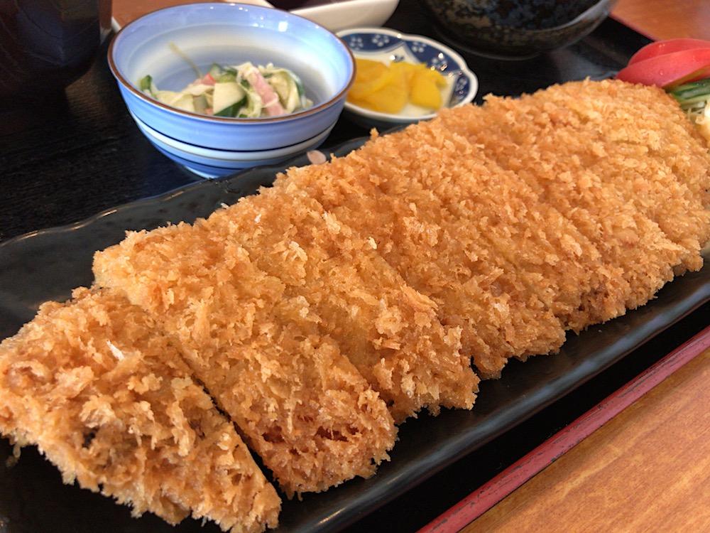 2017 いな穂 わらじ豚カツ定食