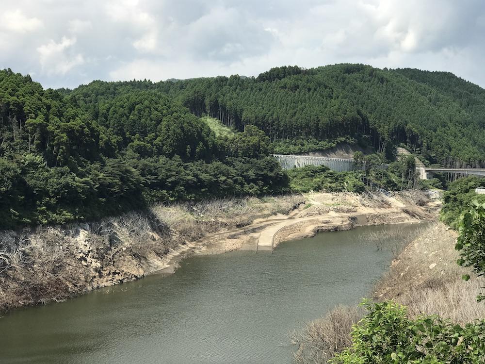 2017.8.20 嘉瀬川ダム