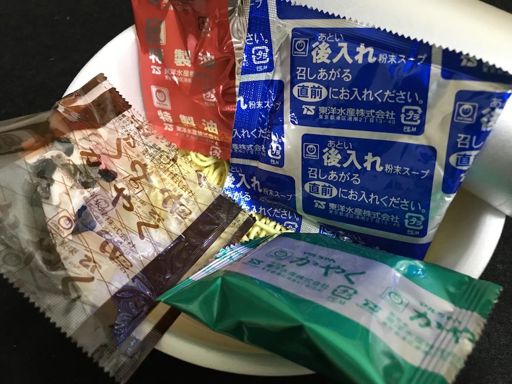 マルちゃん正麺 野菜ちゃんぽん 中身