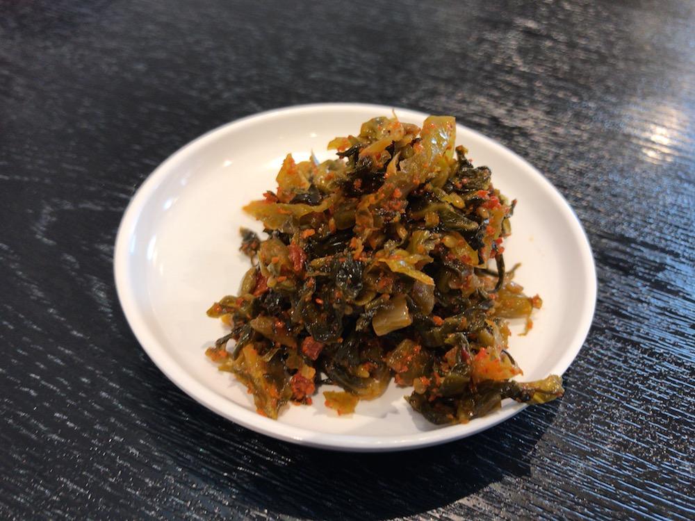 ふくの家 本庄店 辛子高菜