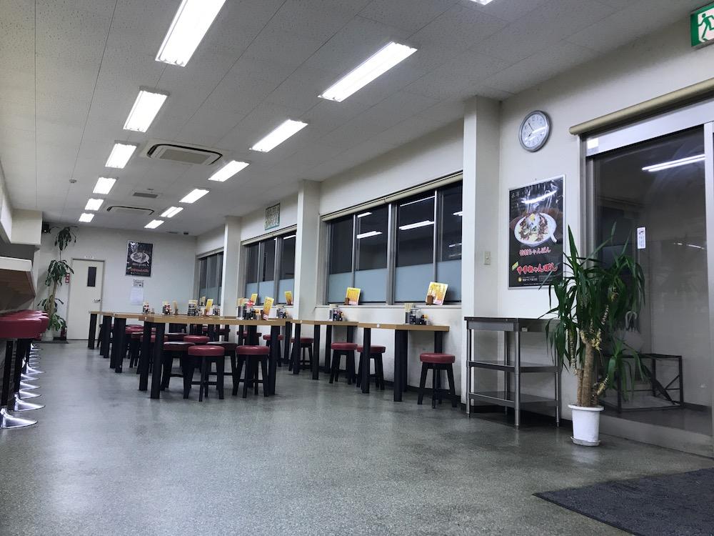 井手ちゃんぽん 諸富店 店内