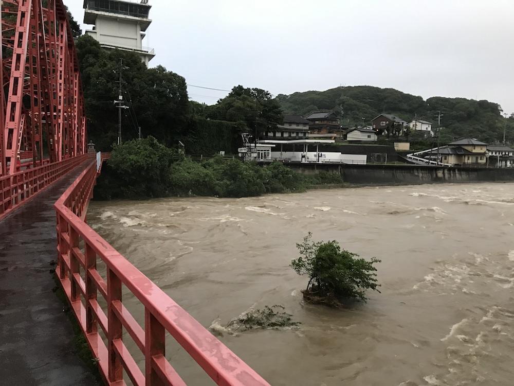 2018.7.6 佐賀県大雨警報