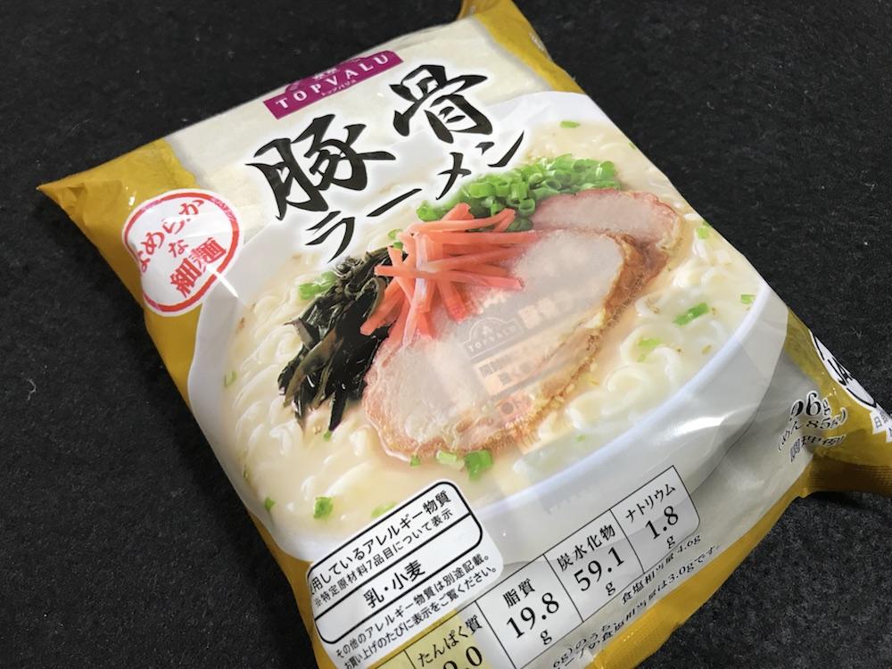 なめらか細麺 豚骨ラーメン