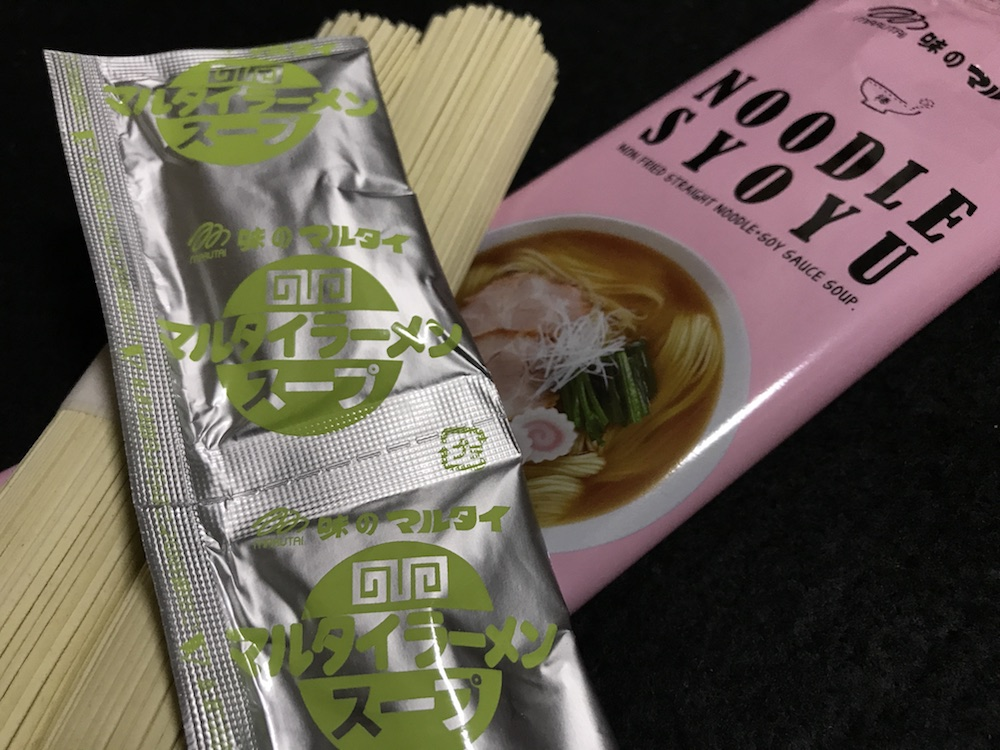 マルタイ棒ヌードル 醤油 食塩相当量