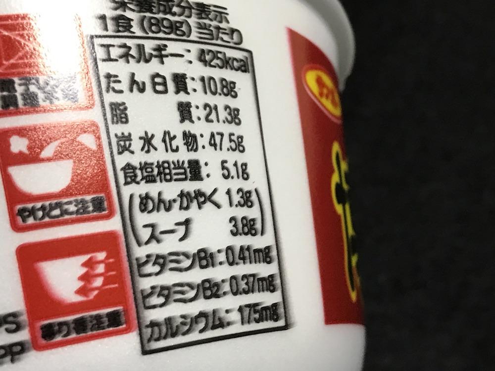 サンポー 博多辛ダレとんこつラーメン 食塩相当量