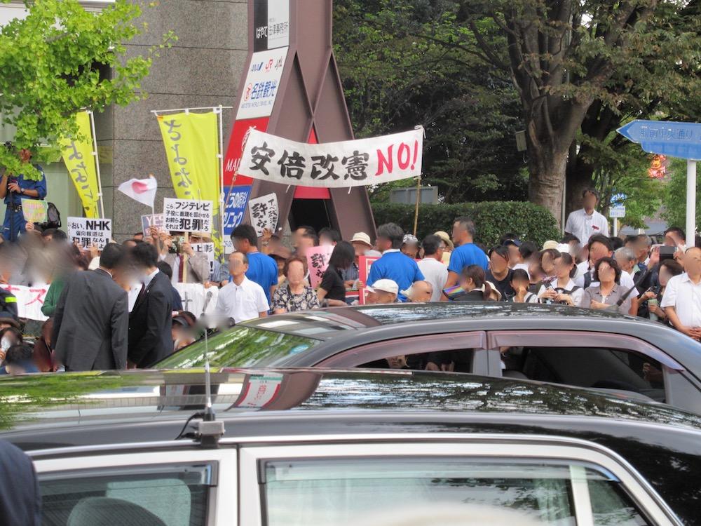 総裁候補者所見発表演説会in佐賀 反安倍勢力