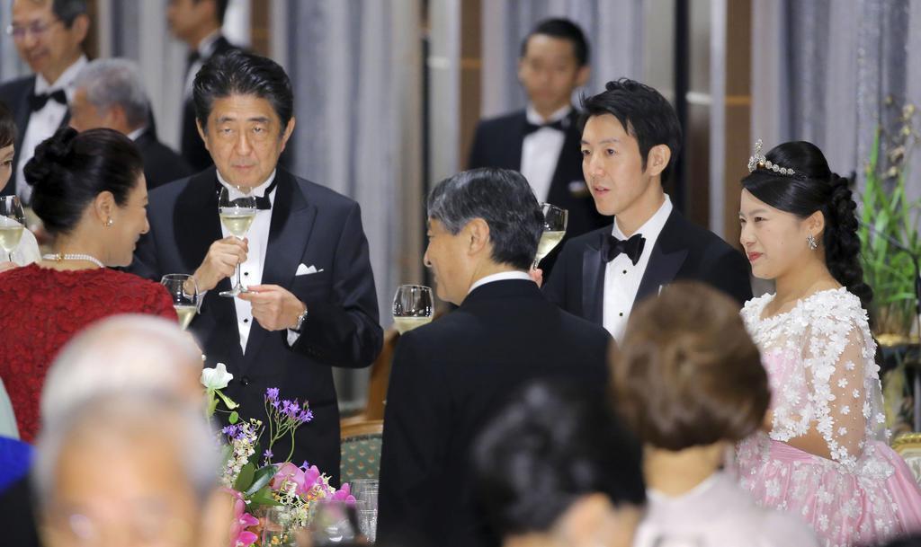 高円宮絢子様晩餐会