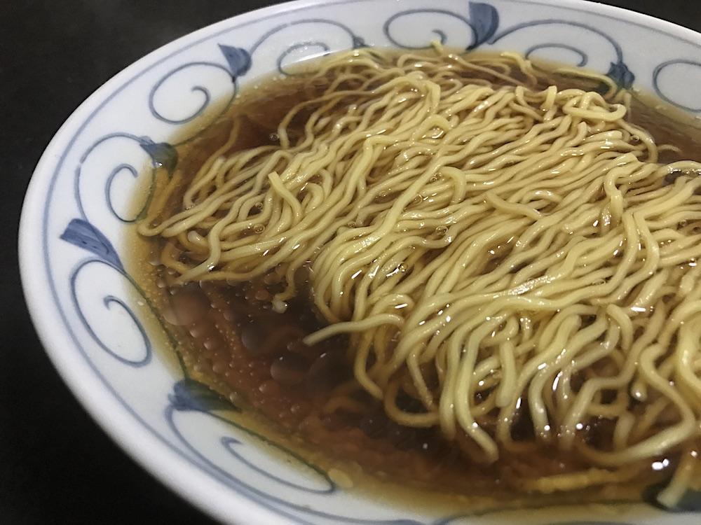 藤原製麺 北海道二夜干しラーメン旭川醤油 出来上がり