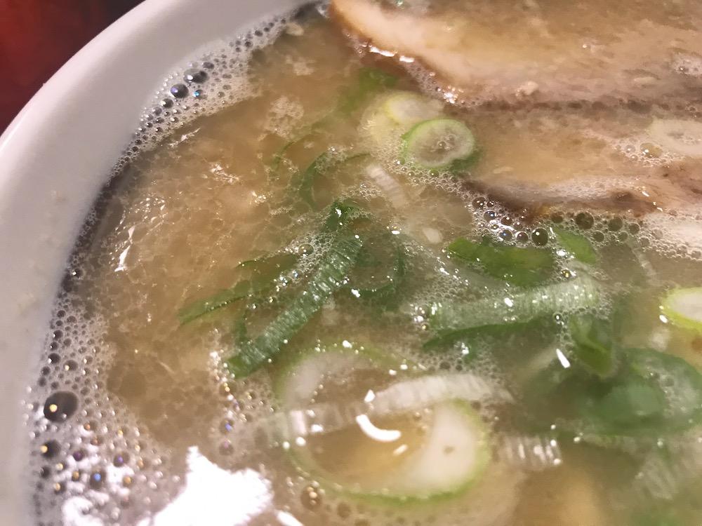 長浜一番栄玉南佐賀店 スープ
