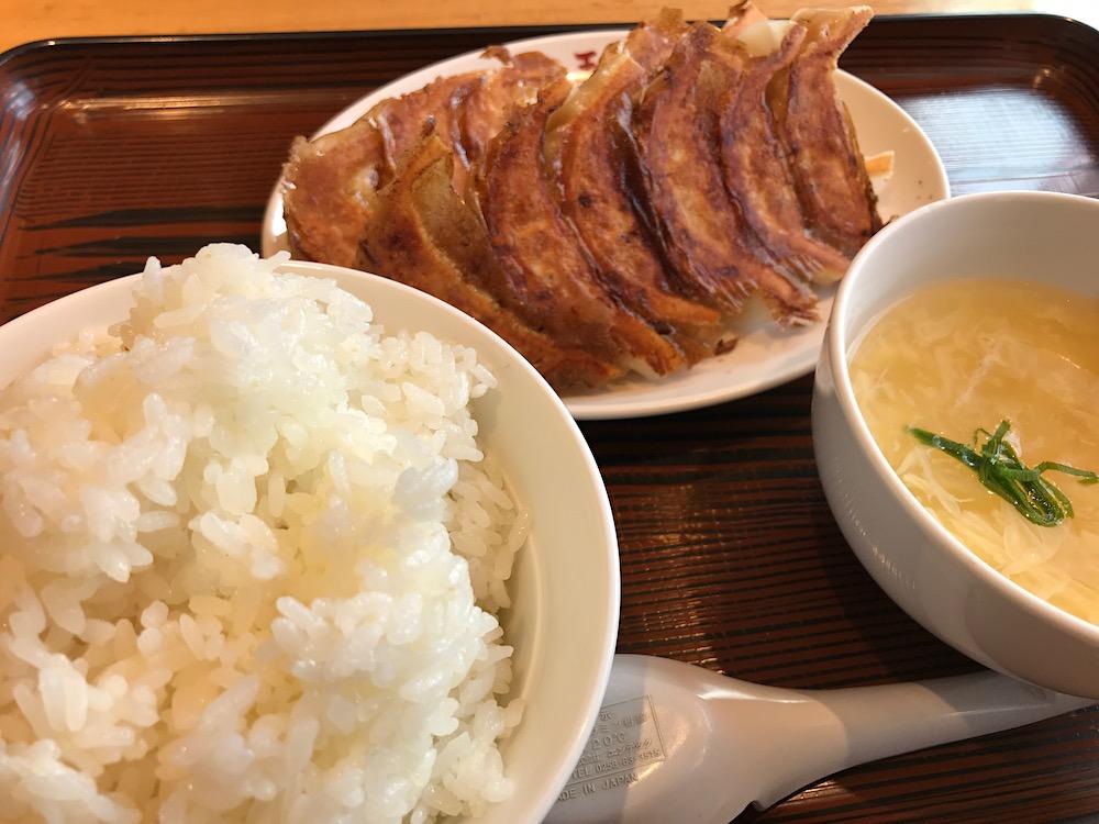 大阪王将 餃子定食