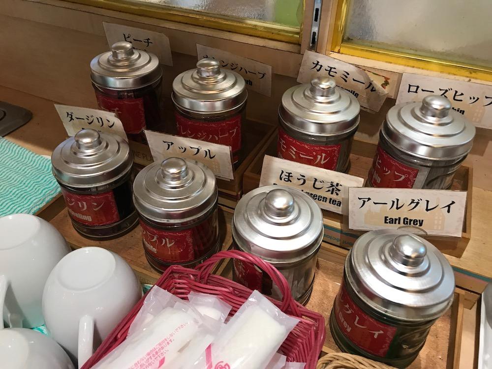 ベーカリーレストランサーグラ夢咲店 ディナーバイキング 紅茶