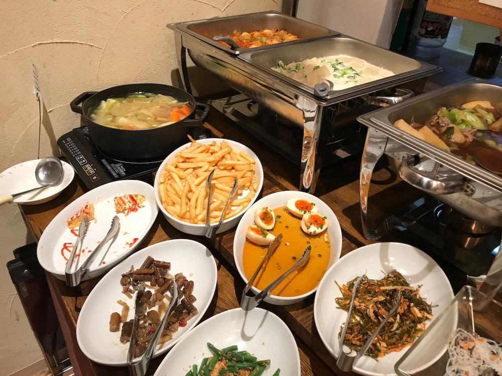 ベーカリーレストランサーグラ夢咲店 ディナーバイキング お惣菜