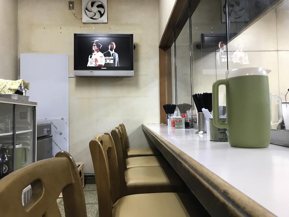 成竜軒高木瀬店リニューアル 店内