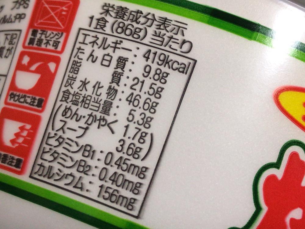 サンポー 焼豚ラーメンねぎとんこつ味 食塩相当量