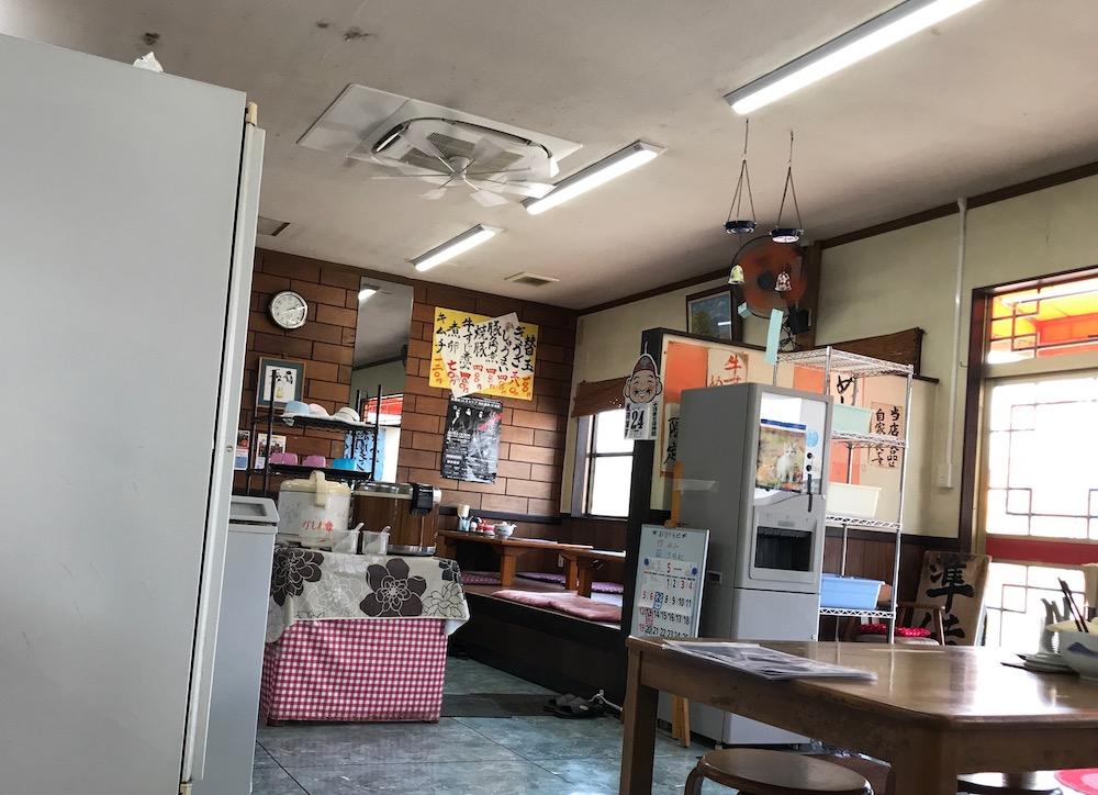 長浜ラーメン喜楽屋 店内
