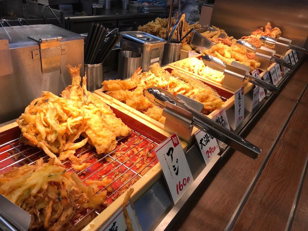 丸亀製麺 天ぷら
