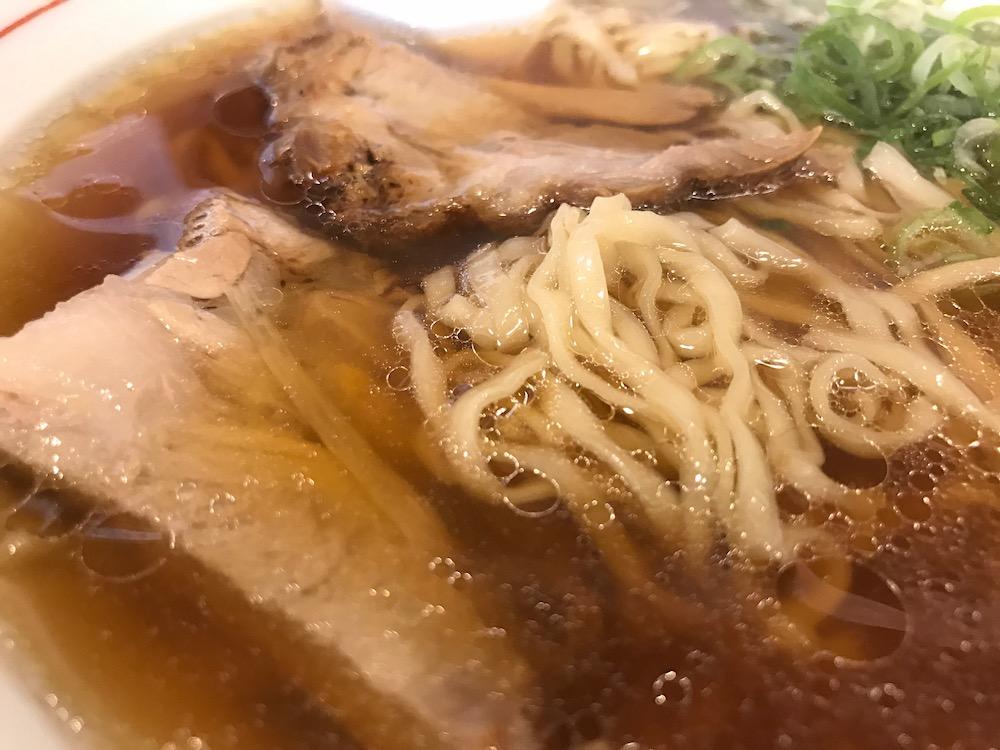 関東軒 支那そば 麺