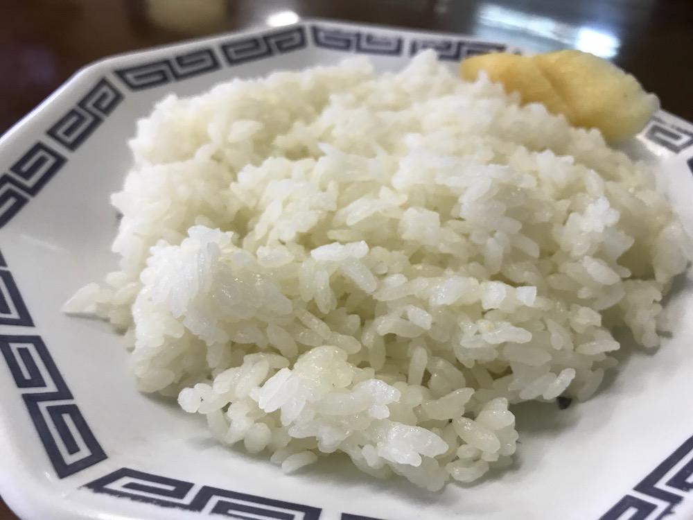 中華雲龍 ご飯(小)