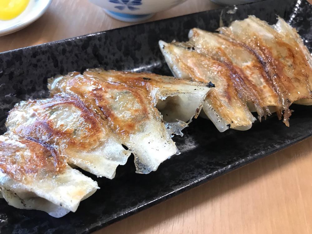 長浜一番 栄玉南佐賀店 餃子