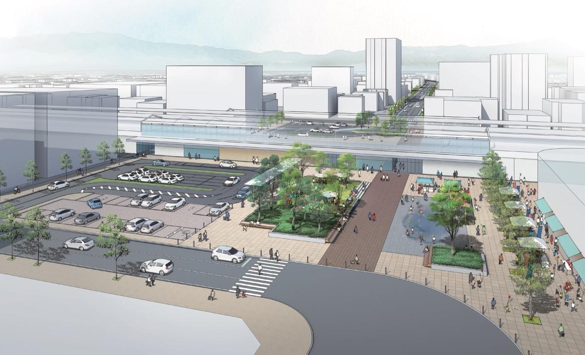 佐賀駅再開発