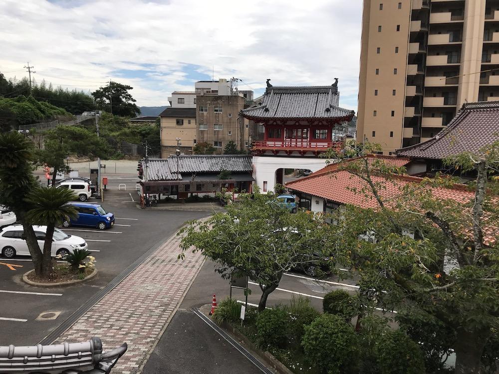 武雄温泉 駐車場