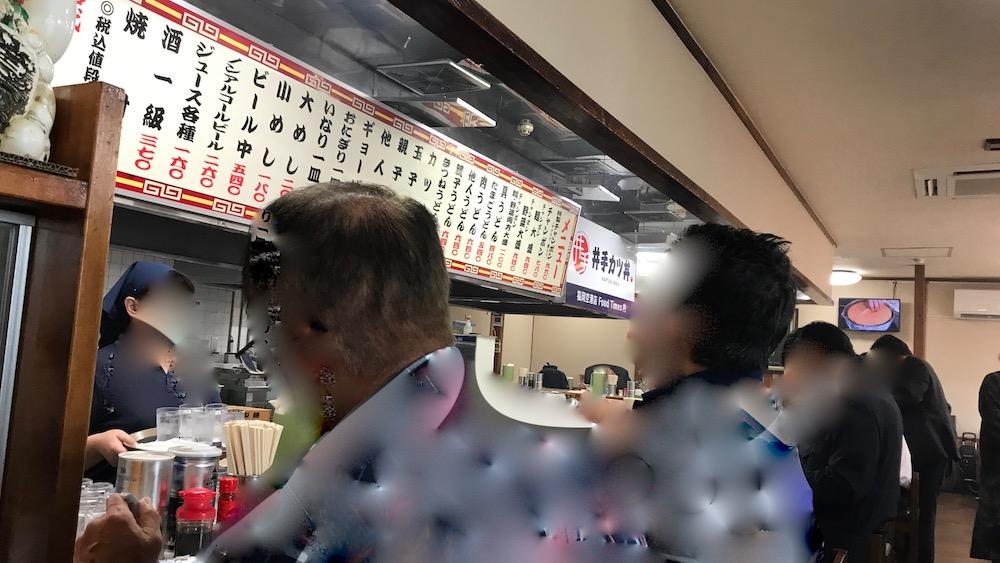 井手ちゃんぽん本店 再開 店内
