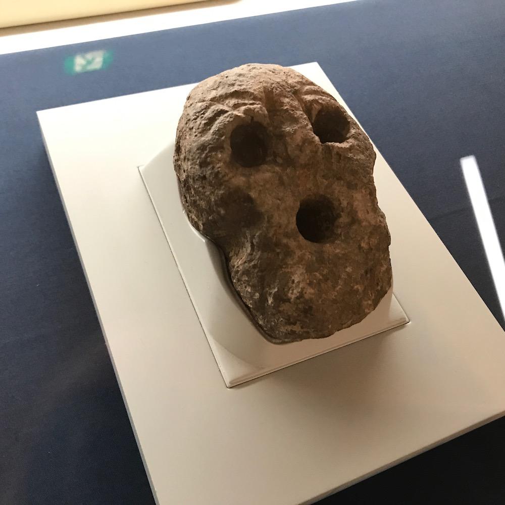 原の辻遺跡出土 人面石