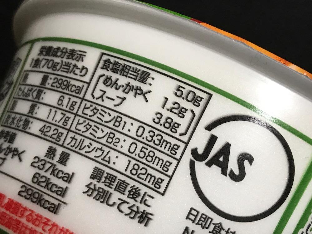 八幡屋礒五郎七味唐からし使用 ピリ辛豚汁風うどん 食塩相当量
