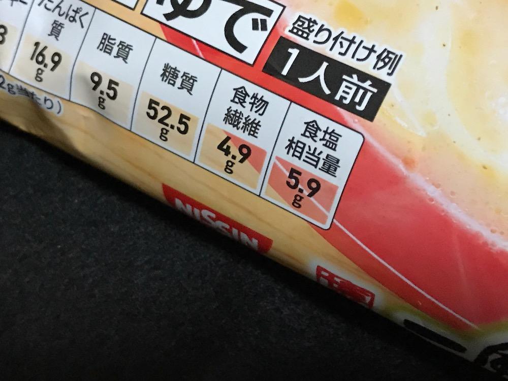 セブンプレミアム 一風堂 博多ちゃんぽん! 食塩相当量