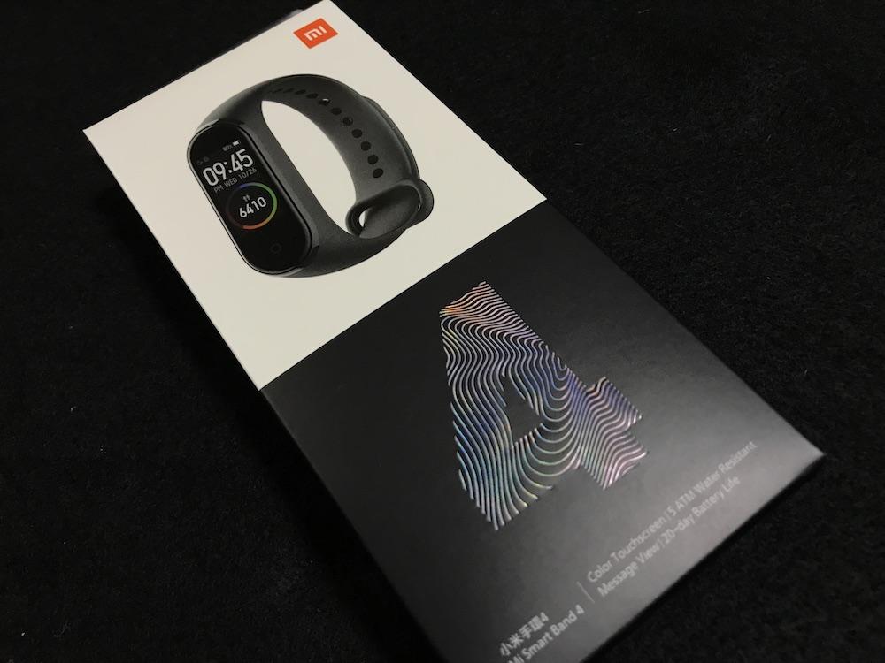 Xiaomi Mi スマートバンド4 パッケージ