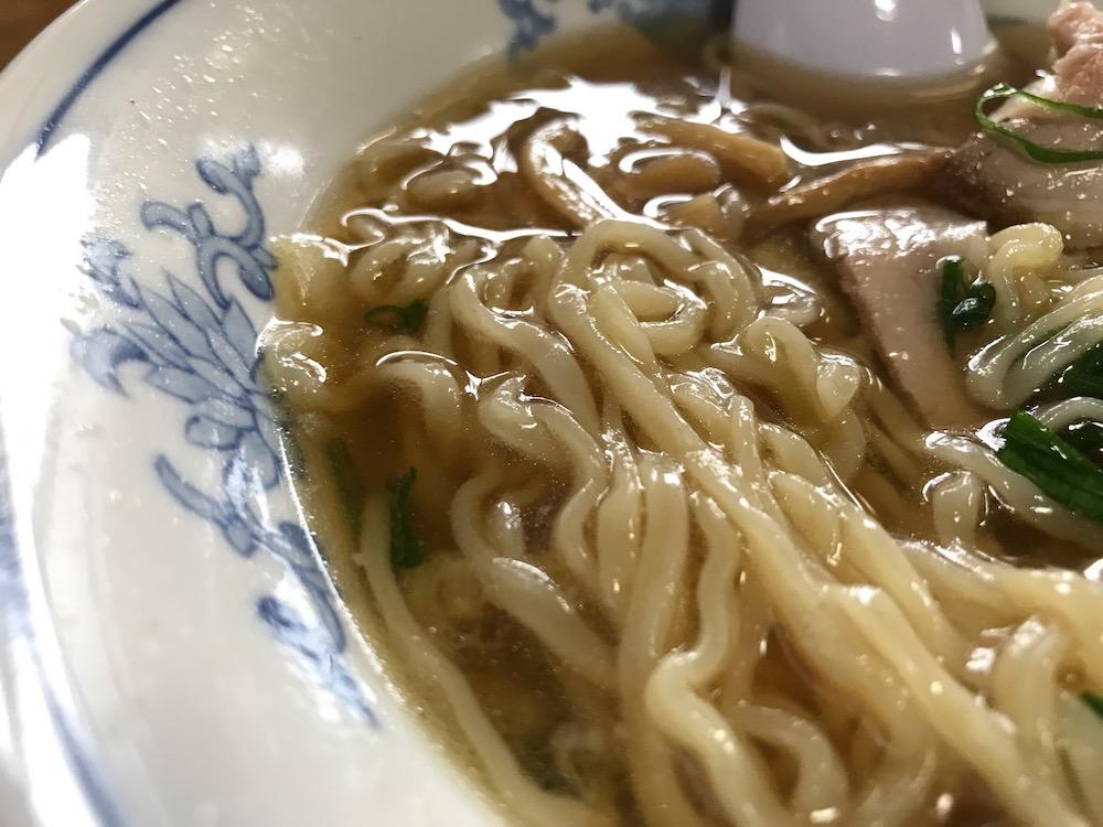無庵 中華そば 麺