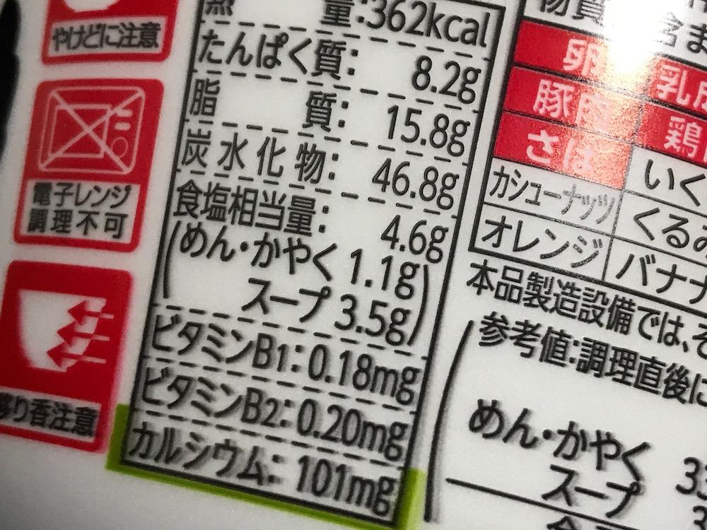 福岡ゆずすこ ゆず香る鶏白湯ラーメン 食塩相当量
