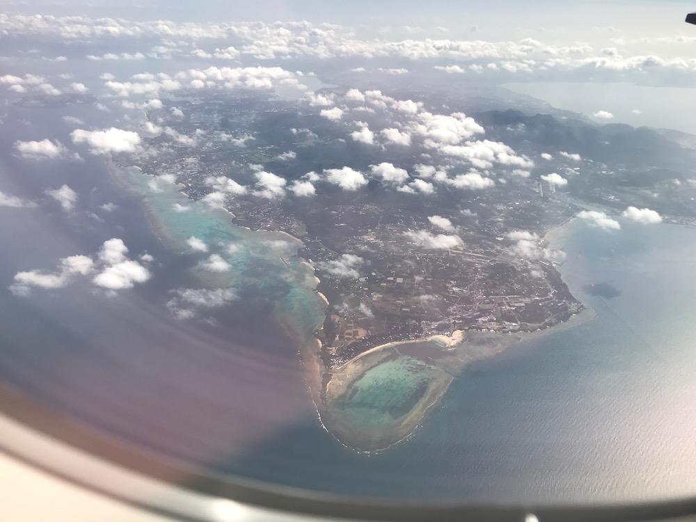 ピーチ 沖縄の風景