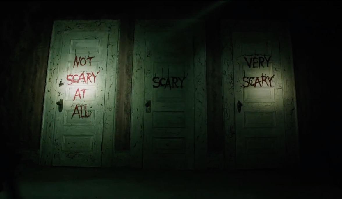 恐怖の三枚扉