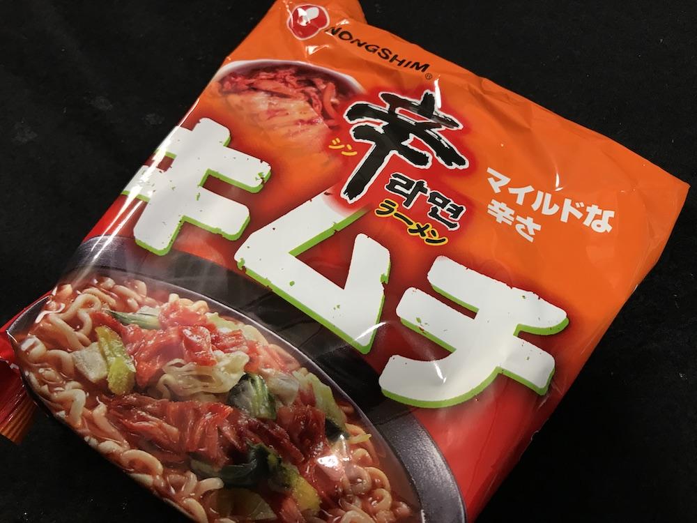 辛ラーメンキムチ袋麺 パッケージ