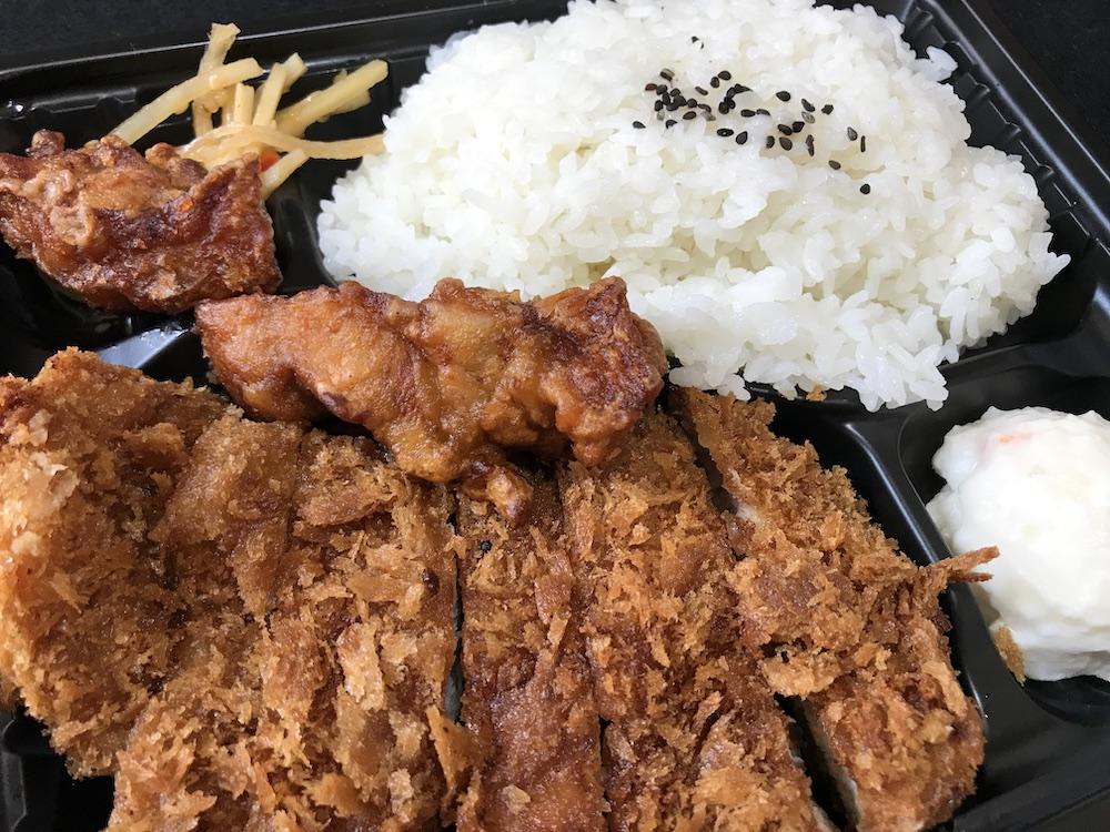 鶏八 とんかつ唐揚げ弁当