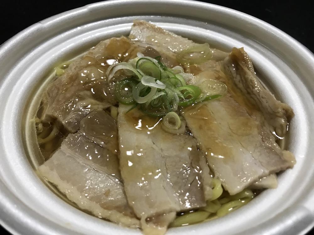 熟成ちぢれ麺 喜多方チャーシュー麺 出来上がり