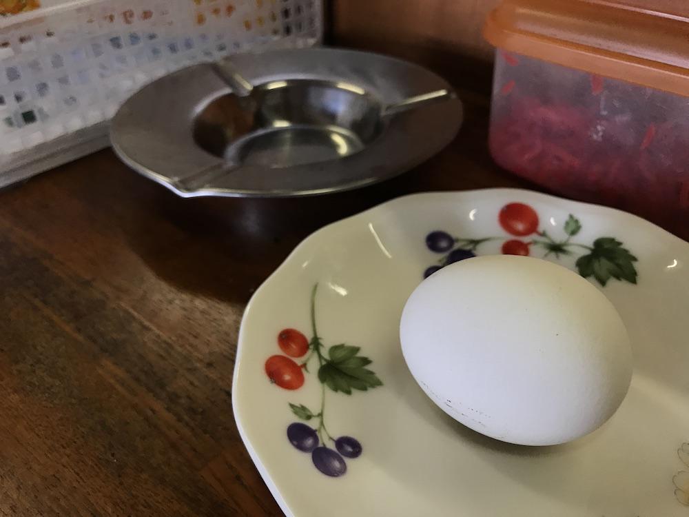 幸龍 ゆで卵サービス