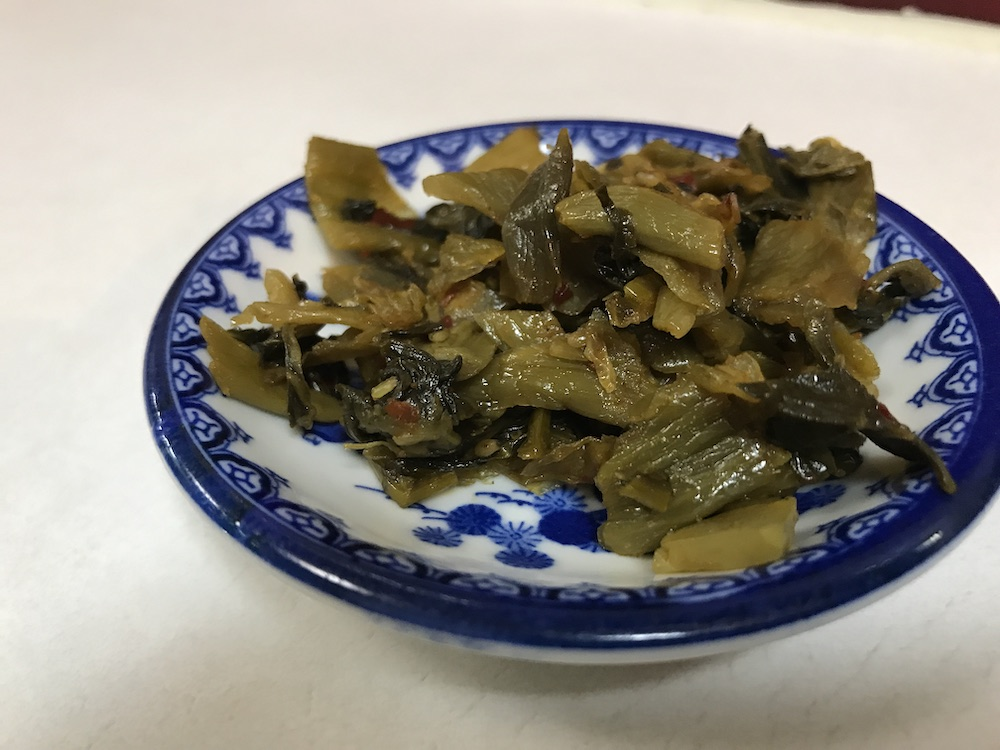 駅前ラーメンビック・ワン 辛子高菜