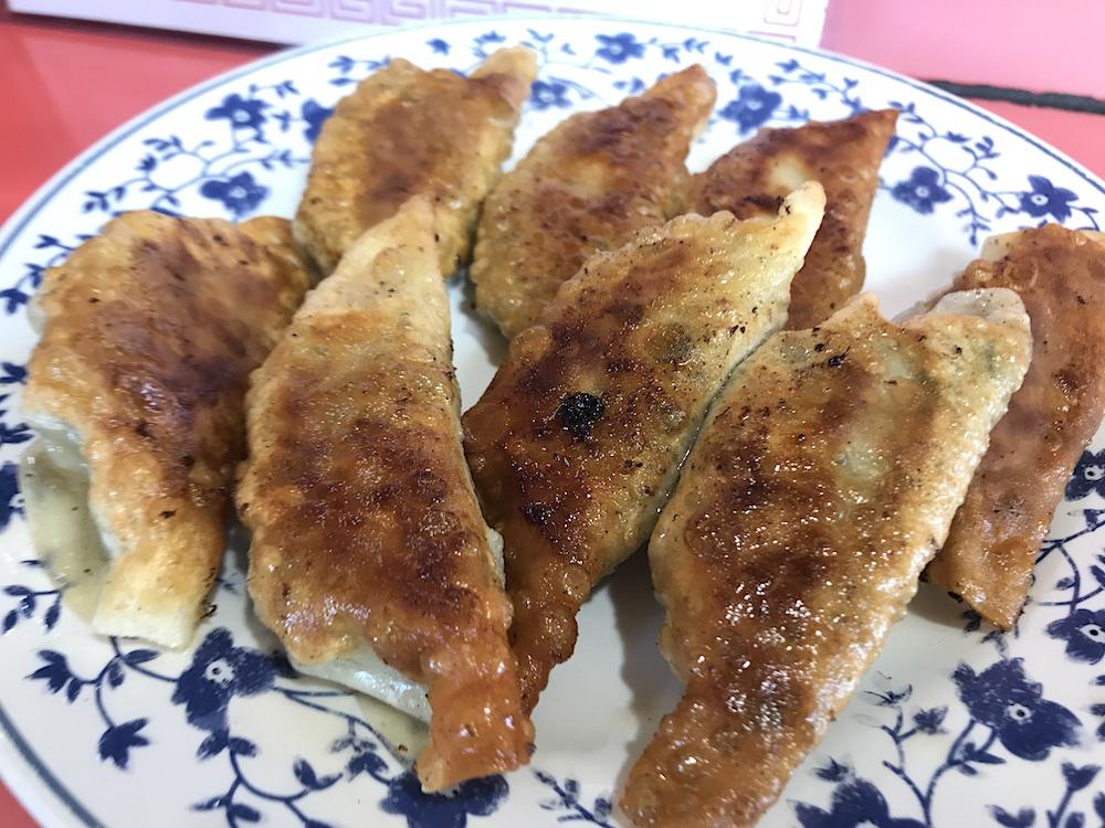 甲子苑 餃子
