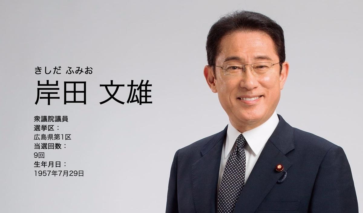 総選挙2020 岸田氏