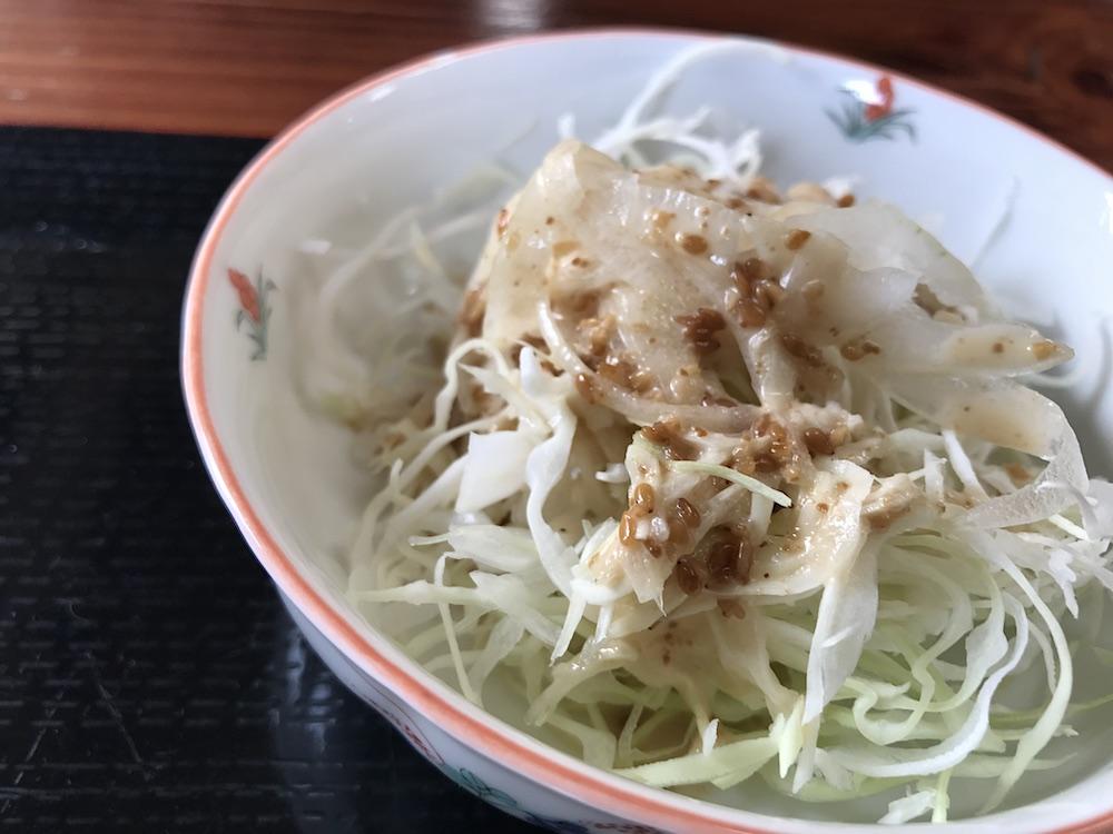 ラーメン清楓 サラダ