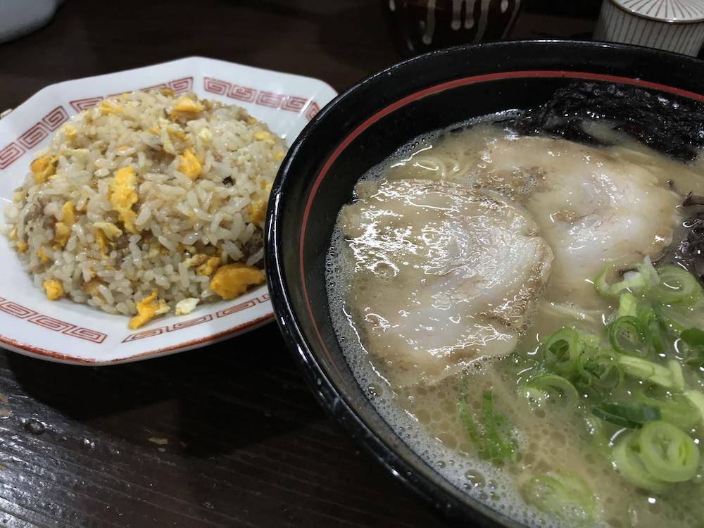 久留米ラーメン金ちゃん チャーハン定食