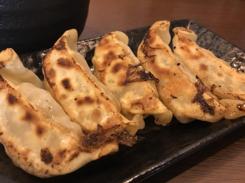 横浜家系ラーメン龍馬家大財店 餃子