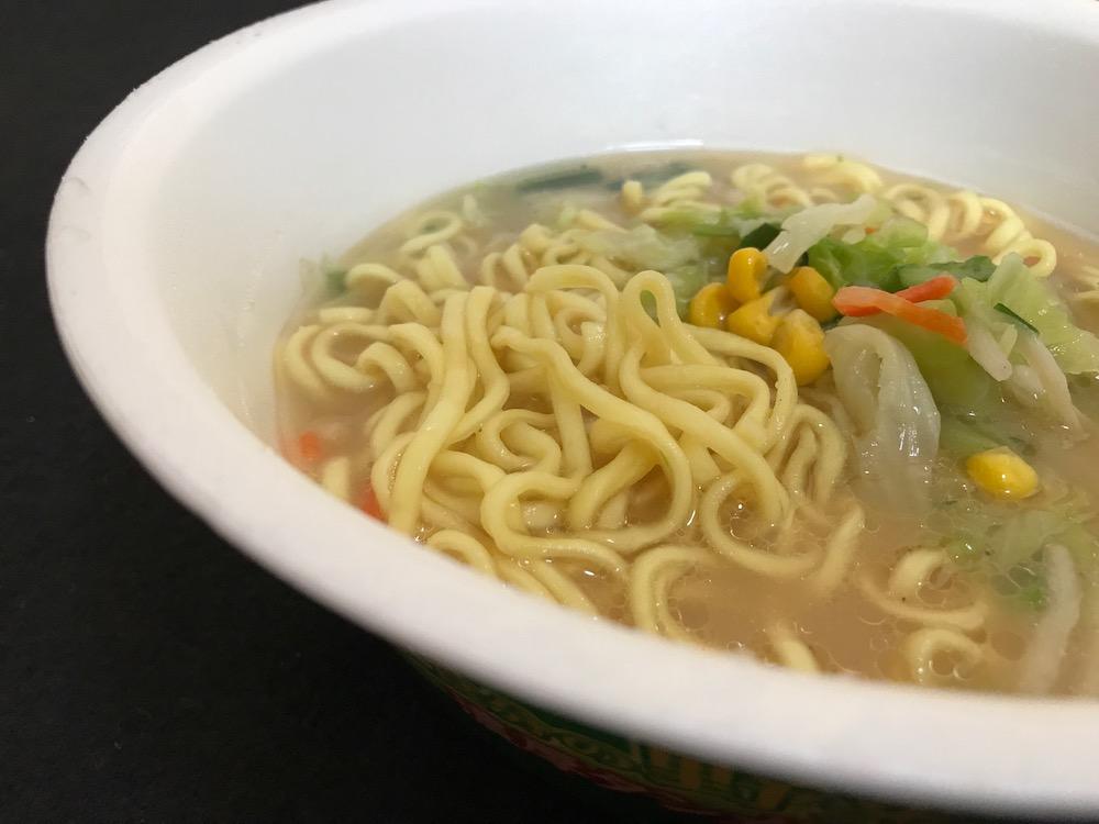 東京タンメントナリ監修1食分の野菜濃厚タンメン 出来上がり