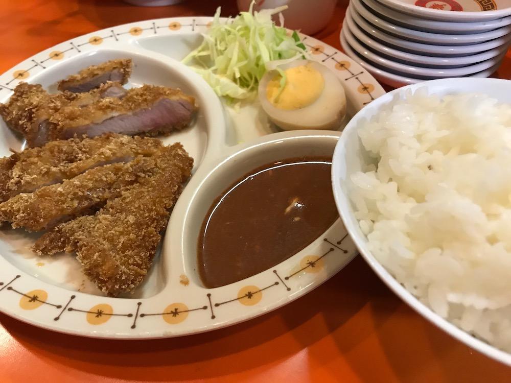 長浜ラーメン三吉 A定食