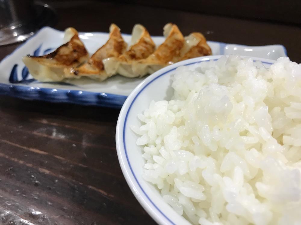 久留米ラーメン金ちゃん ギョーザ定食