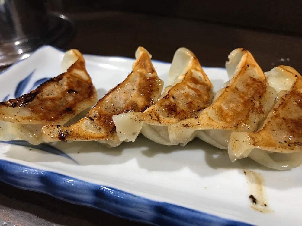 久留米ラーメン金ちゃん ギョーザ定食 ギョーザ