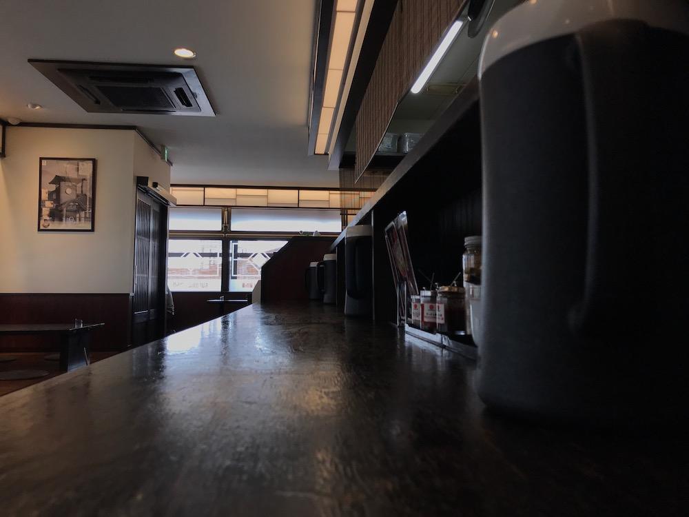 大砲ラーメン吉野ヶ里店 店内 2021.3